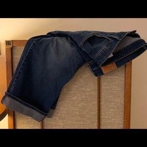 Levi's Crop Jeans